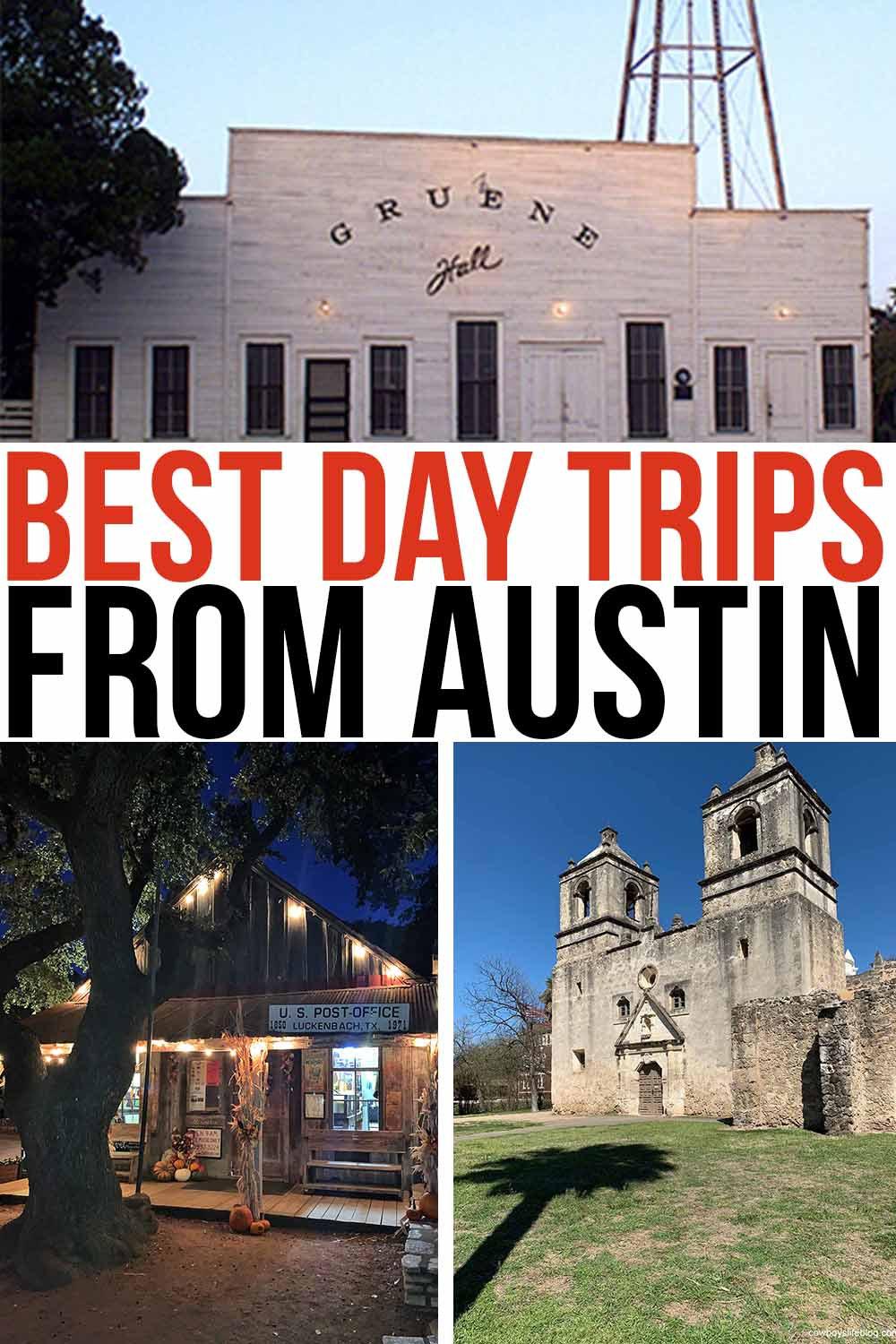 best day trips from Austin