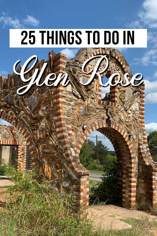 Fun Things to Do in Glen Rose TX