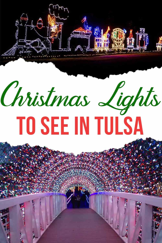 Christmas Light Displays in Tulsa OK